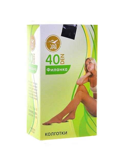 """Колготки женские ЭРА """"Филанка 40"""" черный 5"""