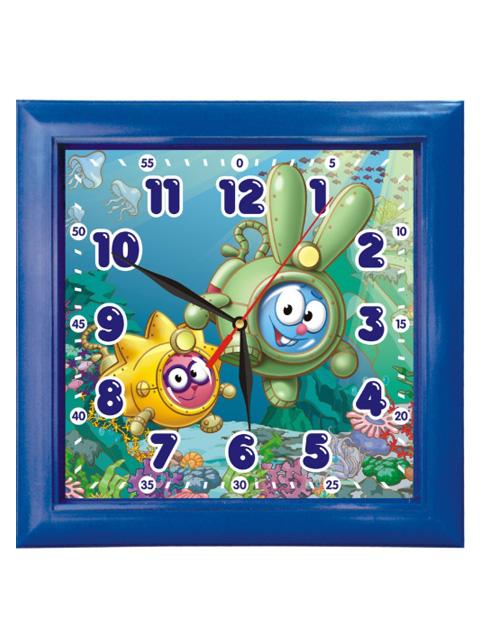 """Часы настенные пластиковые П3-4-99 """"Смешарики"""""""
