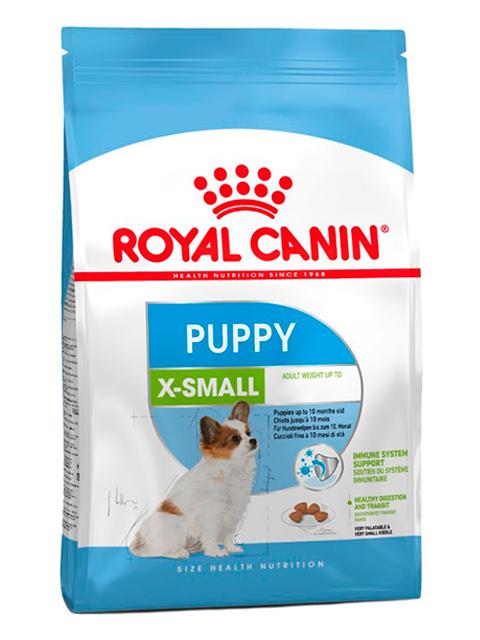 Корм РК Икс-смол Паппи 1,5кг (для щенков собак мелких пород)