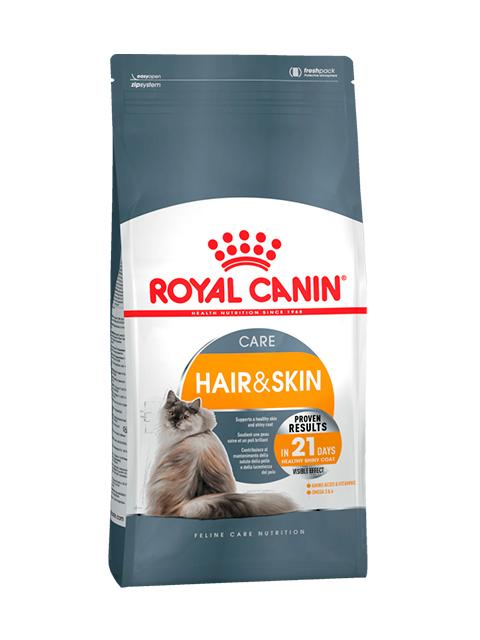Корм РК Хэйр энд Скин кэа 0,4 кг (для взрослых кошек здоровье кожи и шерсти)