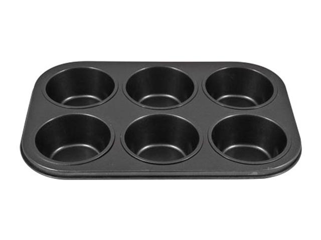 """Форма для выпечки кексов """"Катунь"""" 6 ячеек, 31х21см"""