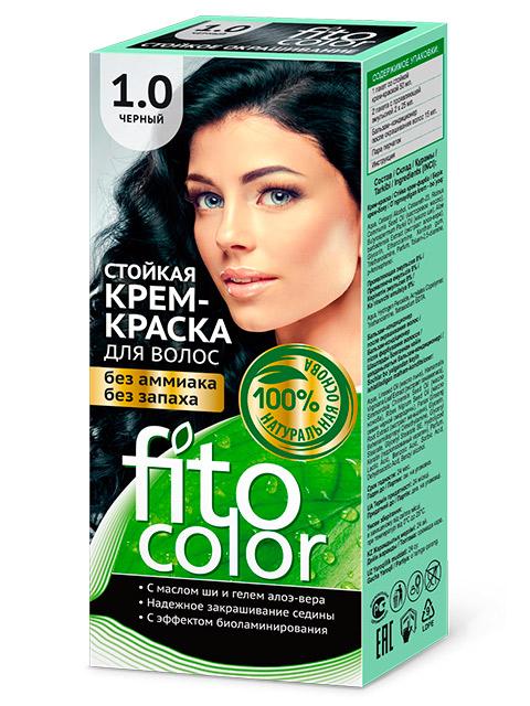 Крем-краска для волос FITOCOLOR 1.0 Черный