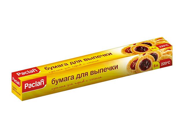 """Бумага для выпечки """"Paclan"""" 8м х38см"""