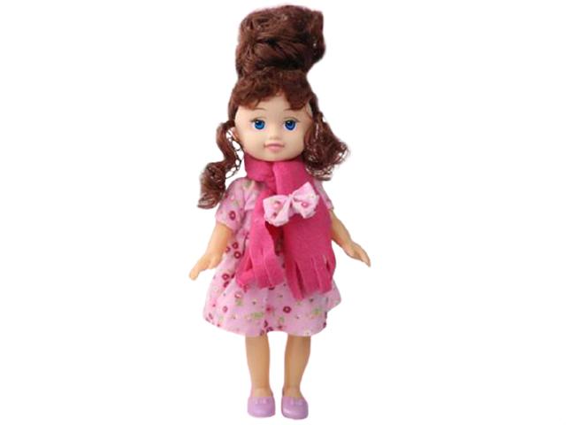 """Кукла """"Симпатичная кукла. В шарфике"""" звук, в пакете"""
