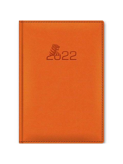 """Ежедневник датированный А5 176 листов """"Nadir"""" Символ года  оранжевый"""
