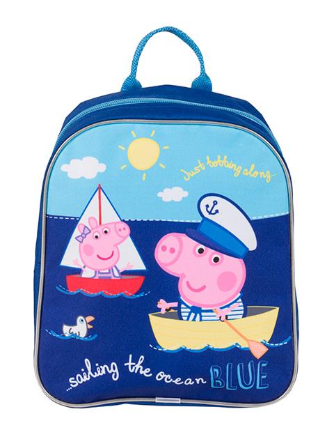 """Рюкзак детский """"Росмэн. Peppa Pig. Море"""" на молнии"""