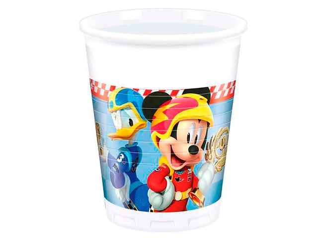 "Стакан пластиковый Пати бум ""Микки Маус"" 200 мл. 8шт. в упак."