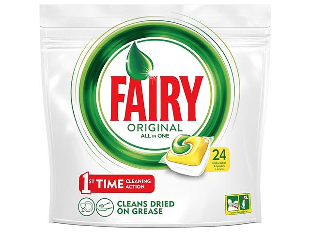 """Таблетки для посудомоечных машин """"FAIRY"""" 24шт. Лимон"""