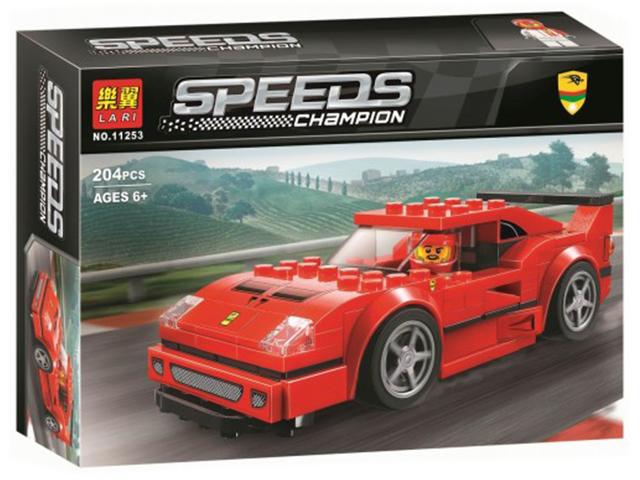 "Конструктор ""Ferrari F40 Competizione"" 204 детали в коробке"