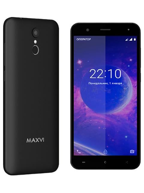 Смартфон Maxvi MS 531 VEGA, черный