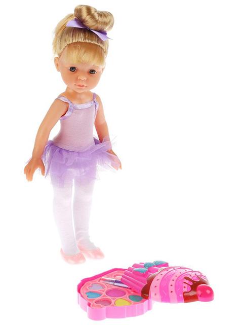 """Кукла """"Балерина"""" с набором косметики, в подарочной упаковке"""