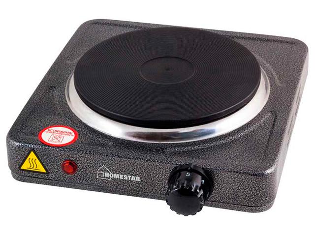 Электрическая плита 1 комф. HOMESTAR HS-1102, диск