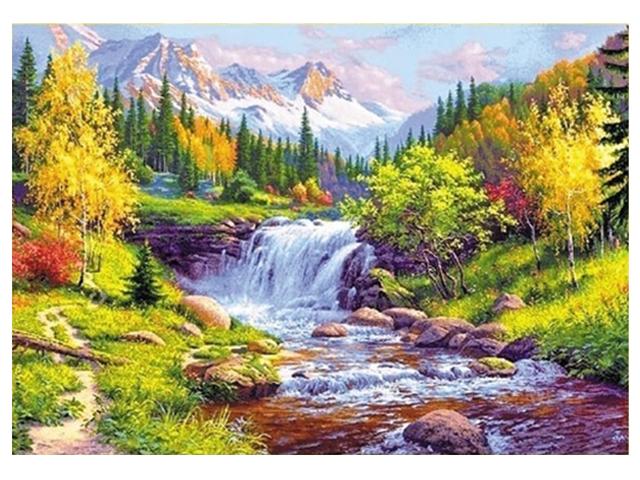 "Алмазная мозаика 5D ""Природа"" 40х50 см"