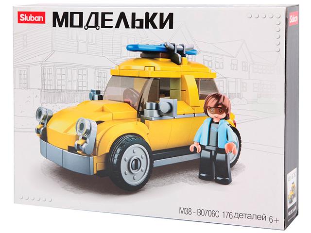 """Конструктор SLUBAN """"Модельки"""" 176 деталей"""