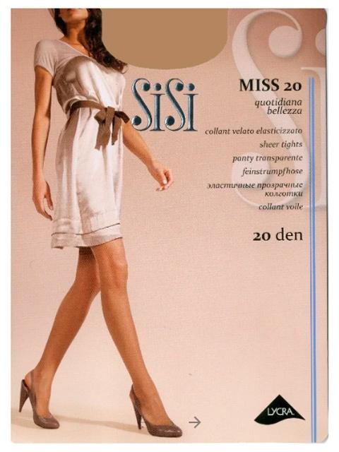 "Колготки женские ""Sisi Miss 20"" Miele 3-M"