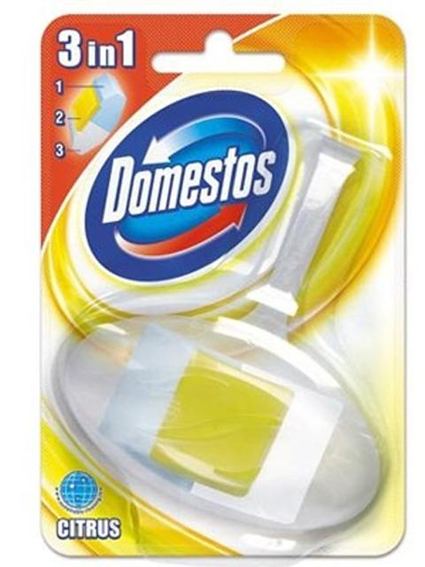 Domestos Блок для унитаза гигиенический подвесной Лимон Сила 3в1 40 г
