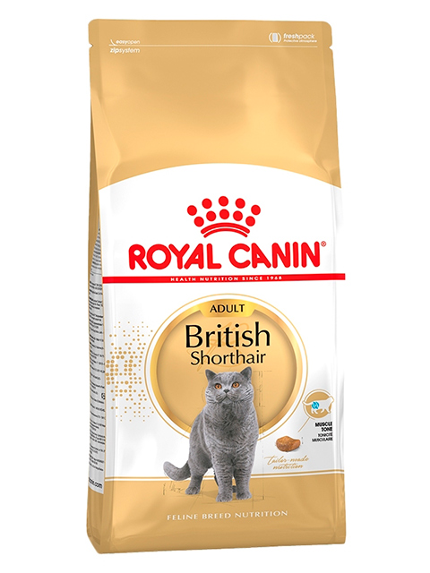 Корм РК ФБН Британская короткошерстная 2 кг (для кошек британ. короткошерст. породы старше 12 мес.)