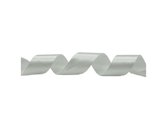 Лента атласная, декоративная 3,8смх22,86м №127 жемчужный (цена за 1м)