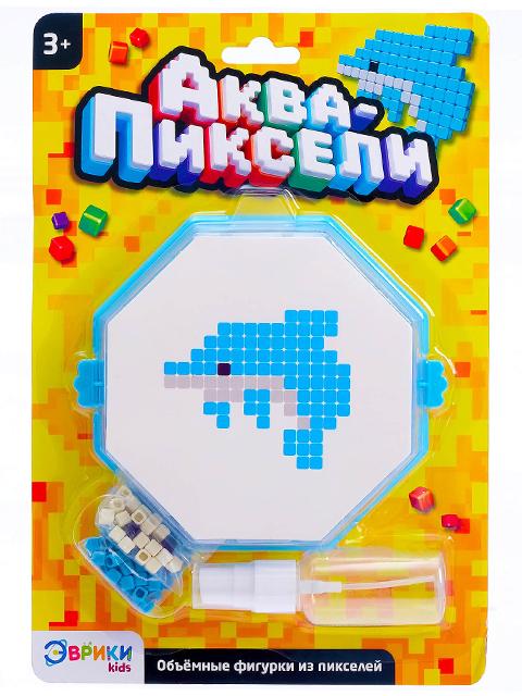 """Игра развивающая Эврики """"Аква-мозаика. Дельфин"""", блистер"""