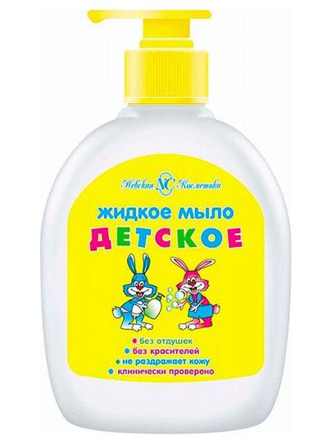 Мыло жидкое Невская косметика Детское, с дозатором, 300 мл