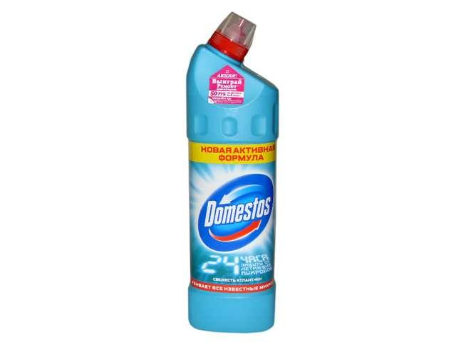 "Domestos СЧС для туалета ""Fresh Atlantic"" (Свежесть атлантики) 1 литр"