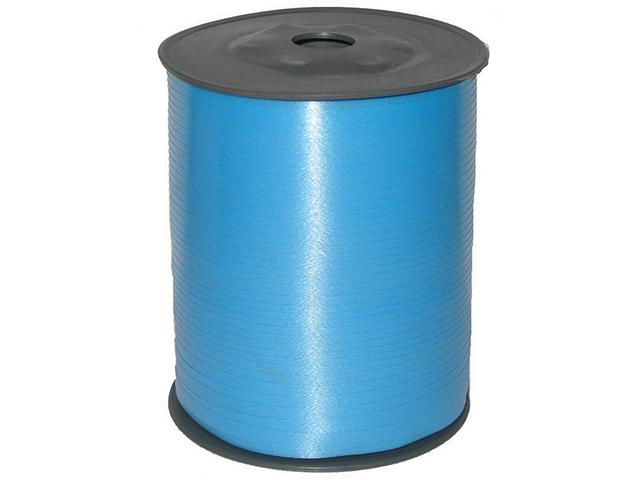 Лента декоративная 5 мм х 500 м, голубая