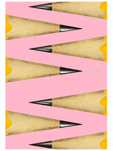 """Скетчбук (180х255) 80 листов Paper Art """"В коробке с карандашами"""" черная бумага, твердая обложка"""