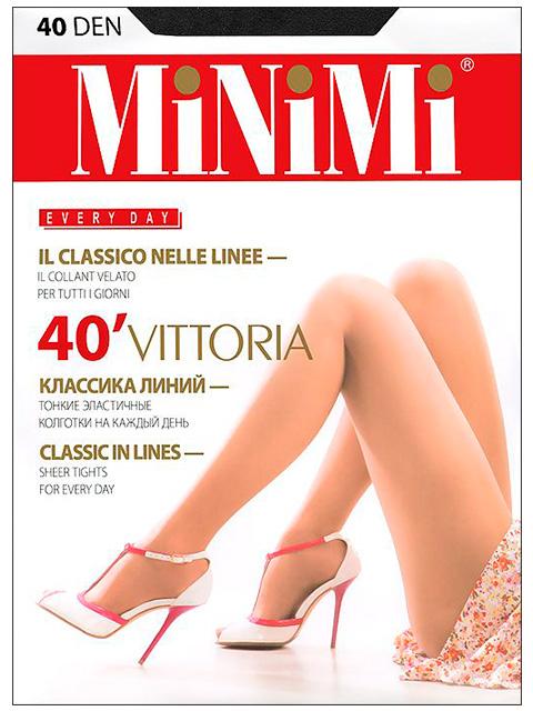 "Колготки женские MiNiMi ""Vittoria 40"" Nero 2-S"