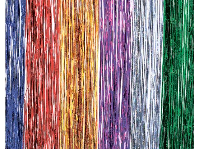 Дождик СНОУ БУМ, 100 х15 см ПВХ, голография, цвета в ассортименте