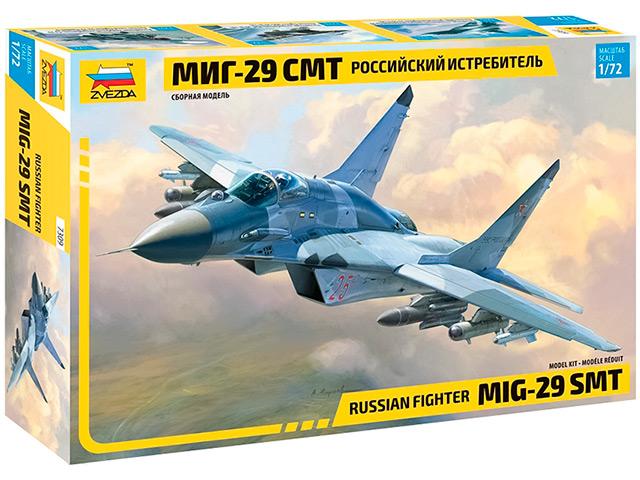 """Сборная модель """"Российский истребитель """"МиГ-29 СМТ"""" М1:72"""