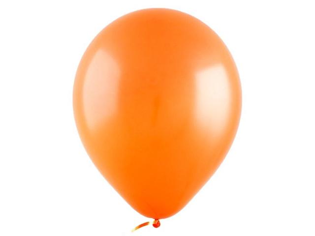 "Шар 12"" Оранжевый Стандарт Tangerine 50 штук"