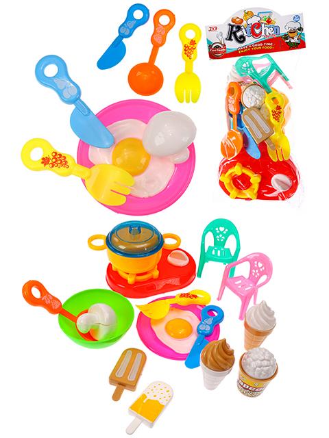 """Игровой набор посуды """"Кухонная утварь-2"""" в пакете, 32,5х15,5 см"""
