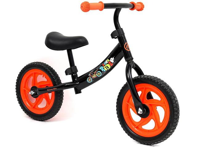 """Беговел NEXT """"Born Rider"""", пластиковые колеса 12"""", черный"""