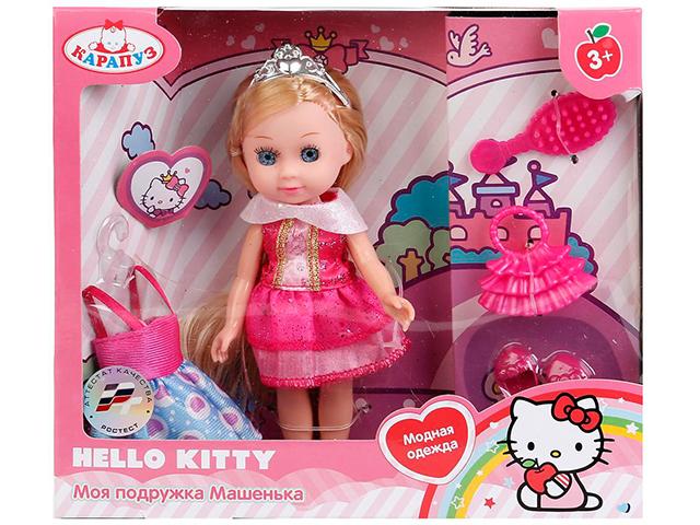 """Кукла Карапуз """"Машенька"""" 15 см, с комплектом одежды, в картонной упаковке"""