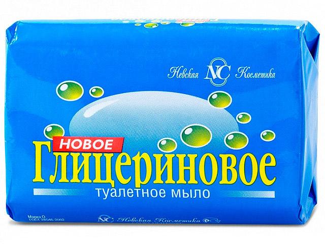 """Мыло туалетное Новое """"Глицериновое"""", 90г"""