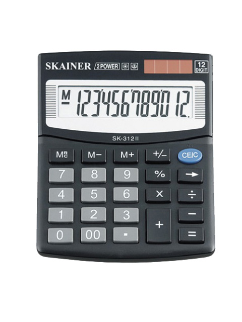Калькулятор настольный SKAINER SK-312II 12 разрядный