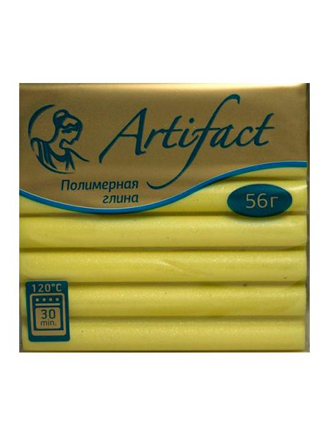 """Пластика """"Артефакт"""" перламутр желтый, 56гр."""