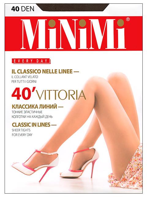 "Колготки женские MiNiMi ""Vittoria 40"" Fumo 5-XL"