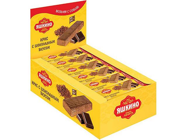 Ирис ЯШКИНО с шоколадным вкусом, 40 гр