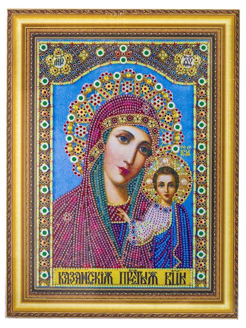 """Алмазная мозаика TUKZAR """"Икона"""" на подрамнике, 30х40 см"""