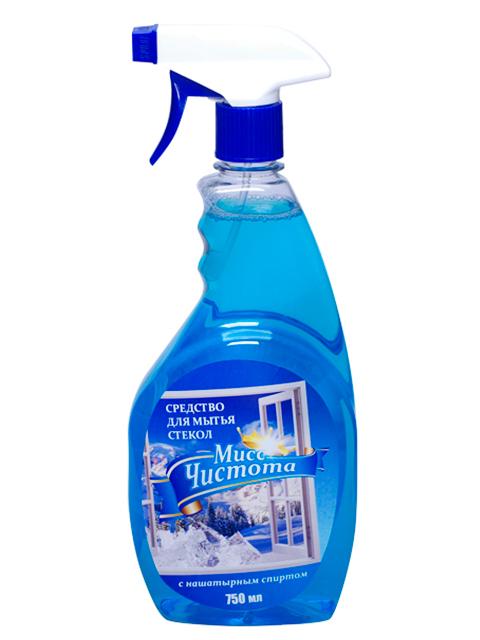 """Средство для мытья стекол """"Мисс Чистота Зима"""" 750 мл"""