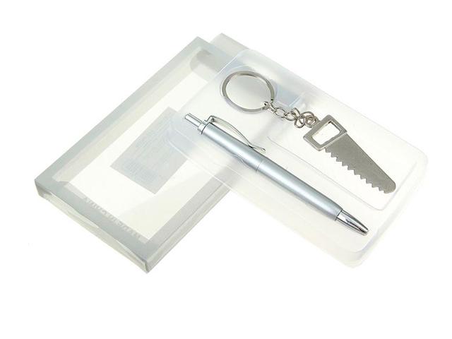 Набор подарочный 2в1 ручка+брелок Пила
