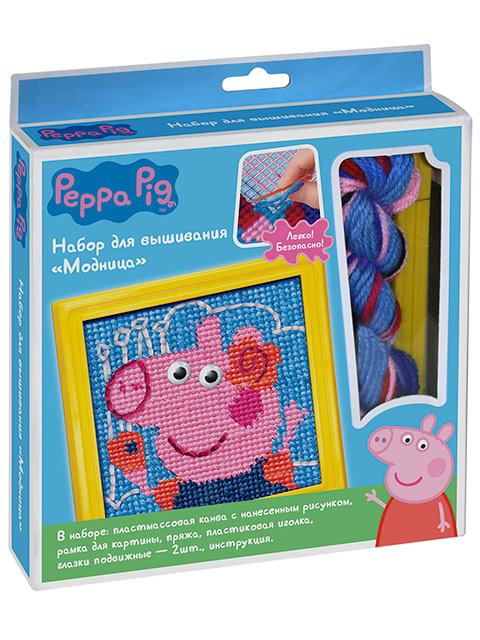 """Набор для вышивания """"Модница"""" Peppa Pig"""
