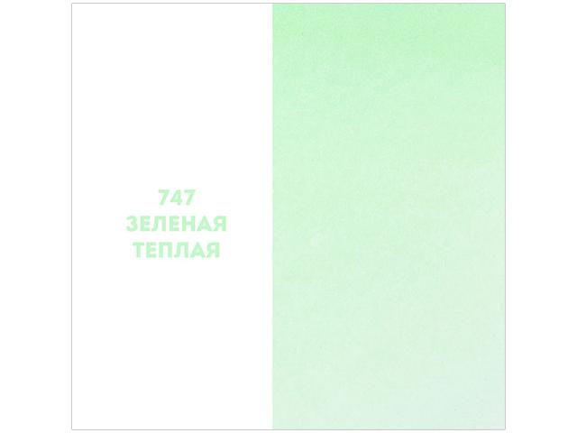 """Краска акв. художественная ЗХК """"Невская палитра. Белые ночи"""" зеленая теплая, кювета 2,5мл."""