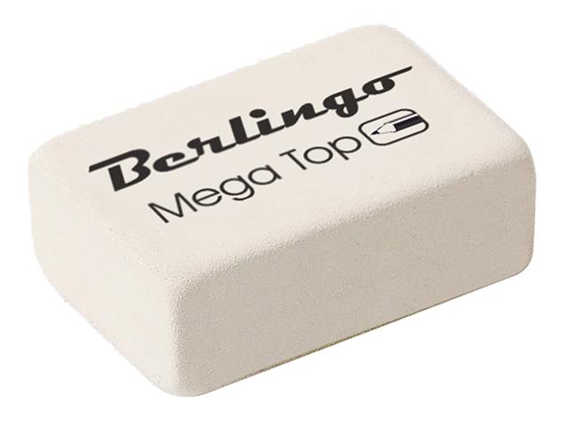 "Ластик Berlingo ""Mega Top"" 26х18х8 мм, каучук"