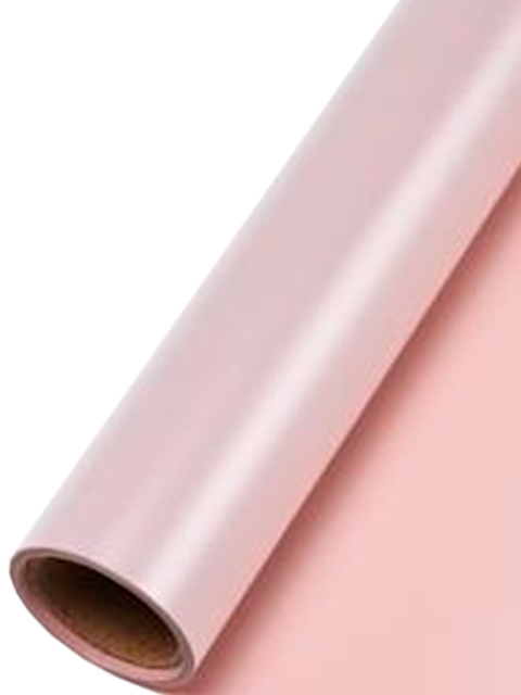 """Пленка упаковочная флористическая """"Элегант"""" 58см х 10м (55 мкр), розовая"""