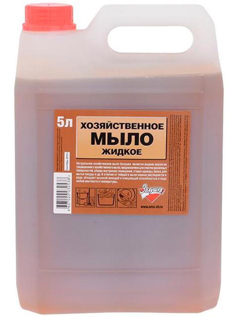 Мыло жидкое Золушка хозяйственное, 5 литров