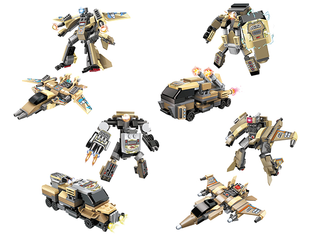 """Конструктор Blockformers """"Connector Trans. Терратранскоммандер"""" в ассортименте"""