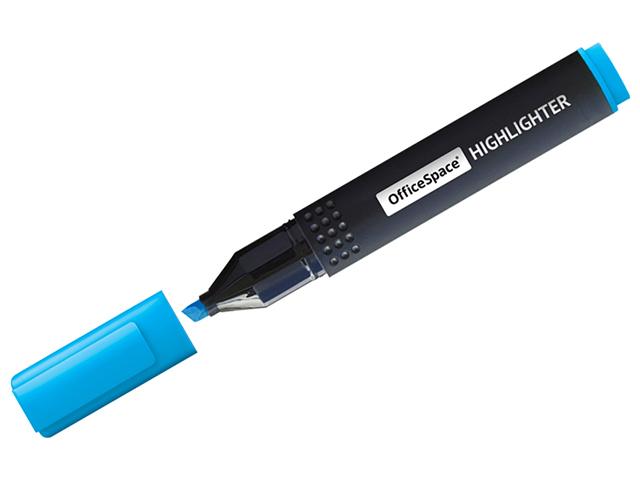 """Текстовыделитель """"OfficeSpace"""", 1-4 мм, голубой"""