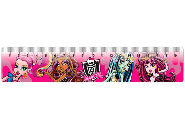 """Линейка детская 20 см """"Centrum. Monster High"""""""